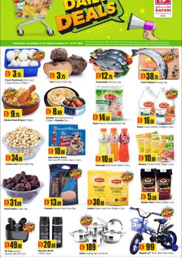 Qatar - Al-Shahaniya Safari Hypermarket offers in D4D Online. Daily Deals. . Only On 10th July