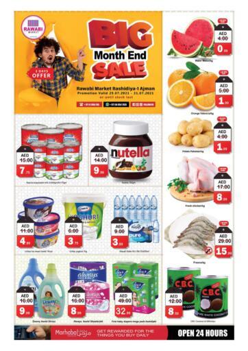 UAE - Sharjah / Ajman Rawabi Market Ajman offers in D4D Online. Big Month End Sale-Rashidiya. . Till 31st July