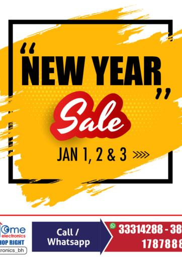 Bahrain Home Electronics offers in D4D Online. New Year Sale. . Till 03rd January