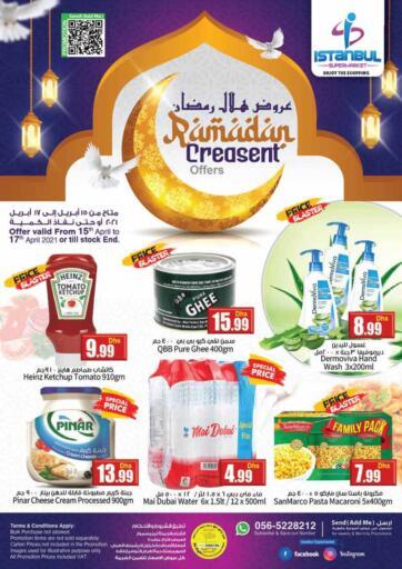 UAE - Dubai Istanbul Supermarket offers in D4D Online. Ramadan Crescent Offers. . Till 17th April