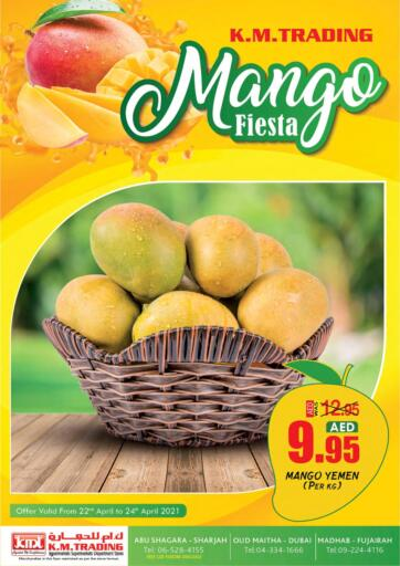 UAE - Dubai K M Trading  offers in D4D Online. Mango Fiesta. . Till 24th April