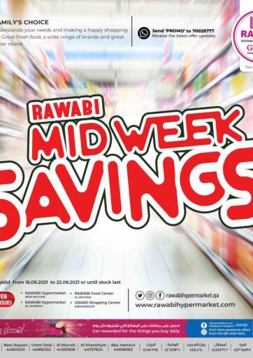 Qatar - Al Rayyan Rawabi Hypermarkets offers in D4D Online. Mid Week Savings. . Till 22nd September