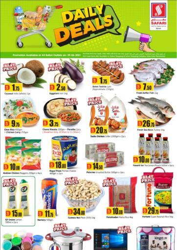 Qatar - Al-Shahaniya Safari Hypermarket offers in D4D Online. Daily Deals. . Only On 29th June