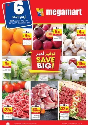 UAE - Dubai Megamart Supermarket  offers in D4D Online. Save Big!. . Till 27th September