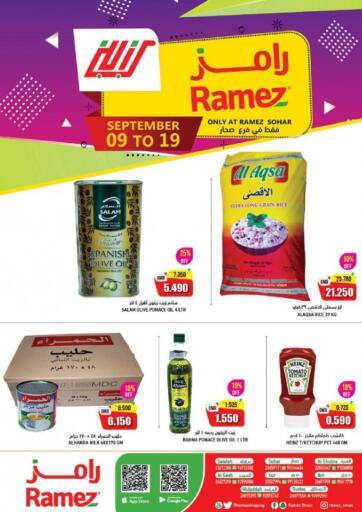 Oman - Sohar Ramez  offers in D4D Online. Sohar - Big Deals. . Till 19th September