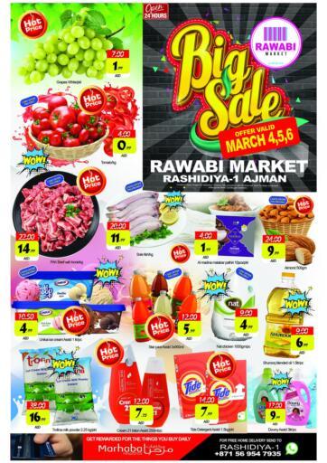 UAE - Sharjah / Ajman Rawabi Market Ajman offers in D4D Online. Big Sale. . Till 6th March