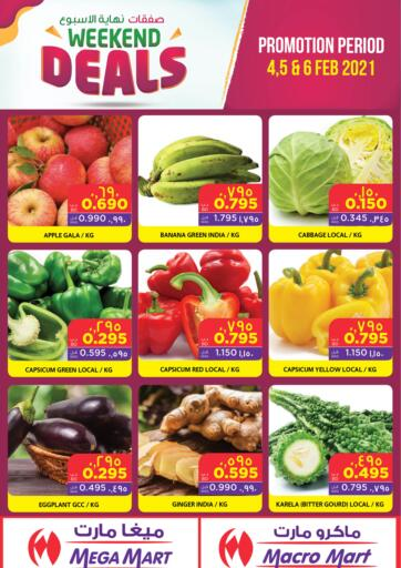 Bahrain MegaMart & Macro Mart  offers in D4D Online. Weekend Deals. . Till 6th February