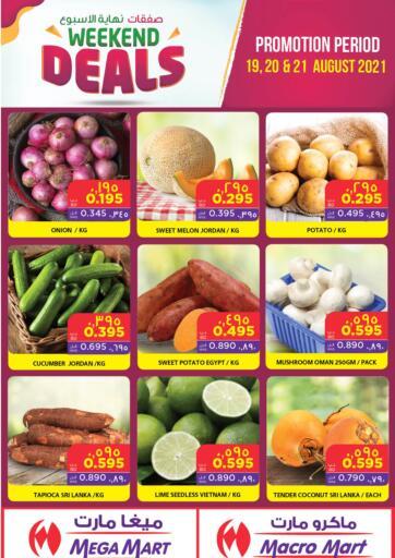 Bahrain MegaMart & Macro Mart  offers in D4D Online. Weekend Deals. . Till 21st August