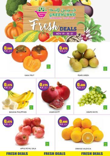 Kuwait Greenland Hypermarket offers in D4D Online. Fresh Deals. . Till 21st November