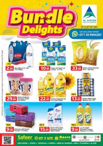 UAE - Sharjah / Ajman Safeer Hyper Markets offers in D4D Online. Bundle Delights. . Till 20th October
