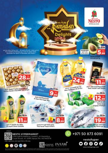 UAE - Sharjah / Ajman Nesto Hypermarket offers in D4D Online. Al Hamidiya, Al jurf , Ajman. . Till 17th April