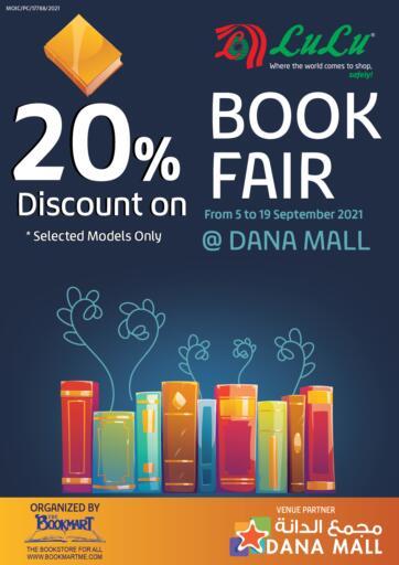 Bahrain LuLu Hypermarket offers in D4D Online. Book Fair 20% Discount @ Dana Mall. . Till 19th September