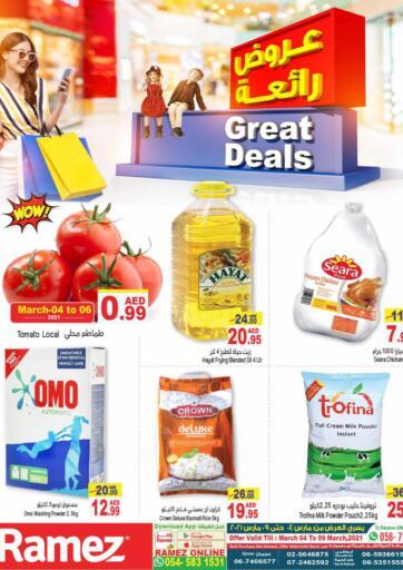 UAE - Abu Dhabi Aswaq Ramez offers in D4D Online. Great Deals. . Till 9th March