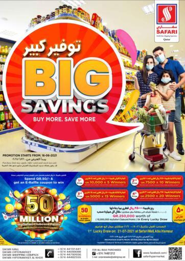 Qatar - Al-Shahaniya Safari Hypermarket offers in D4D Online. Big Savings. . Till 23rd June