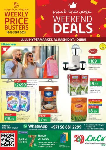 UAE - Ras al Khaimah Lulu Hypermarket offers in D4D Online. WEEKEND DEALS. . Till 19th September