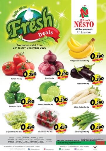 Bahrain NESTO  offers in D4D Online. Fresh Deals. . Till 26th December