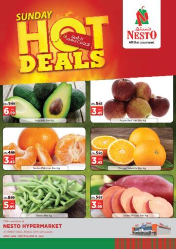UAE - Umm al Quwain Nesto Hypermarket offers in D4D Online. Umm Al Quwain. . Only On 14th March