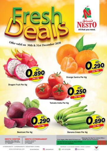Bahrain NESTO  offers in D4D Online. Fresh Deals. . Till 31st December