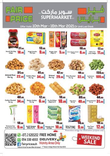 UAE - Abu Dhabi Fair Price Supermarket LLC offers in D4D Online. Weekend Sale. . Till 16th March