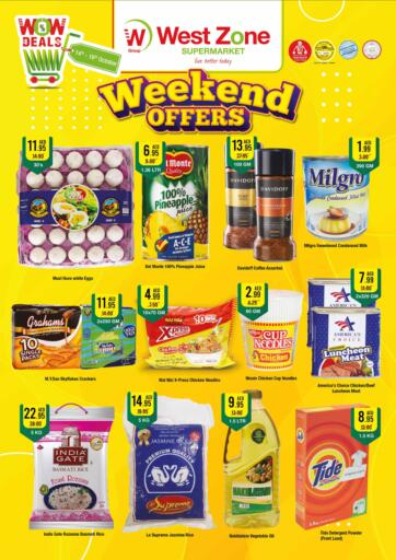 UAE - Sharjah / Ajman West Zone Supermarket offers in D4D Online. Weend Offers. . Till 16th October