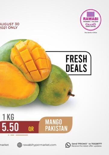 Qatar - Al Rayyan Rawabi Hypermarkets offers in D4D Online. Fresh Deals. . Only On 30th August