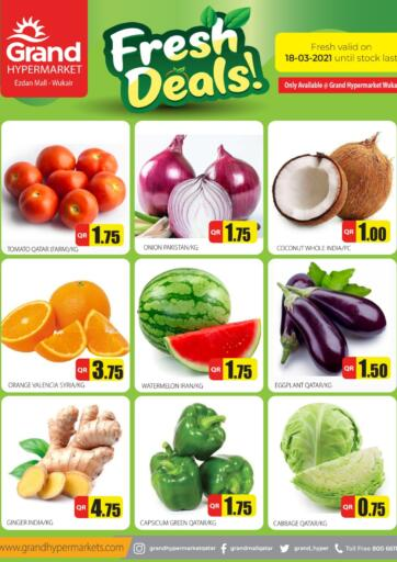 Qatar - Al Wakra Grand Hypermarket offers in D4D Online. Fresh Deals. . Only on 18th March