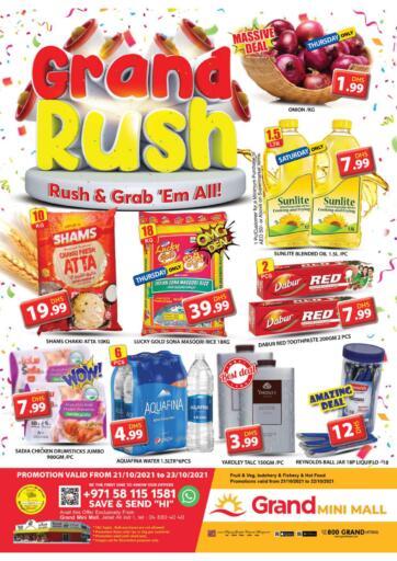 UAE - Dubai Grand Hyper Market offers in D4D Online. Mini Mall - Dubai. . Till 23rd October