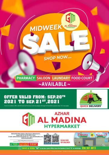 UAE - Dubai Azhar Al Madina Hypermarket offers in D4D Online. Muhaisnah 4 - Midweek Deals. . Till 21st September