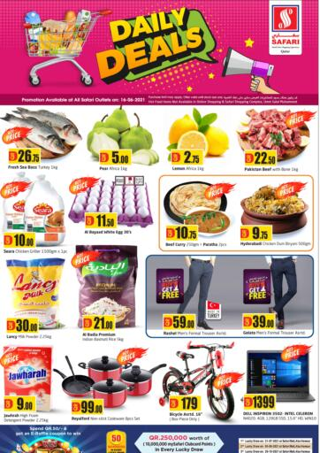 Qatar - Al-Shahaniya Safari Hypermarket offers in D4D Online. Daily Deals. . Only On 16th June