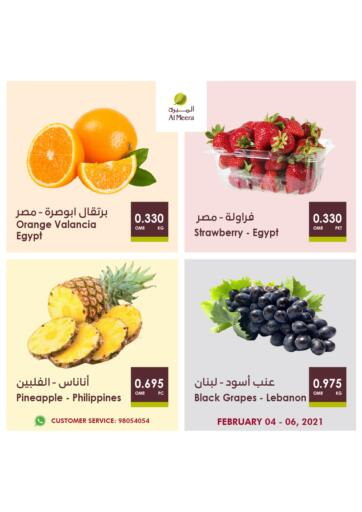 Oman - Muscat Al Meera  offers in D4D Online. Fresh Savers. . Till 6th February