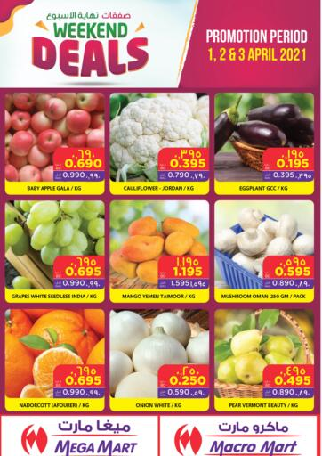 Bahrain MegaMart & Macro Mart  offers in D4D Online. Weekend Deals. . Till 3rd April