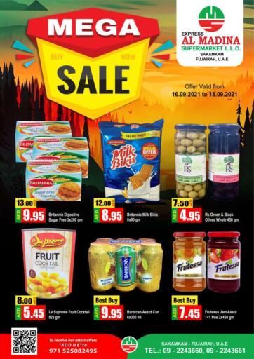 UAE - Fujairah Al Madina Supermarket LLC offers in D4D Online. Sakamkam, Fujairah. . Till 18th September