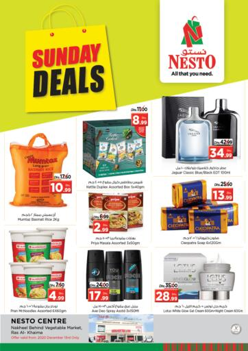 UAE - Ras al Khaimah Nesto Hypermarket offers in D4D Online. Sunday Deals. . Only On 13th December
