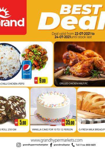 Qatar - Al-Shahaniya Grand Hypermarket offers in D4D Online. Best Deal. Best Deal Offers Are Available At Grand Hypermarket. Offers Are Valid Till  24th July  . Enjoy!!  . Till 24th July