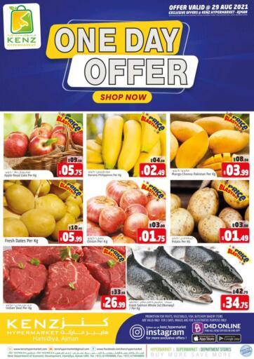 UAE - Sharjah / Ajman Kenz Hypermarket offers in D4D Online. One Day Offer. . Only 29th August