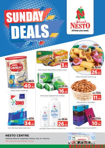 UAE - Ras al Khaimah Nesto Hypermarket offers in D4D Online. Ras Al Khaima. . Only On 07th February