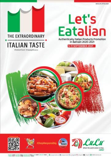 Bahrain LuLu Hypermarket offers in D4D Online. Let's Eatalian. . Till 11th September