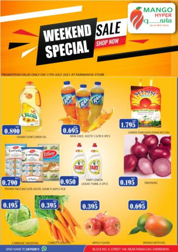 Kuwait Mango Hypermarket  offers in D4D Online. Weekend Special. . Only On 11th July