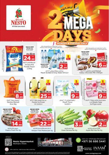 UAE - Fujairah Nesto Hypermarket offers in D4D Online. Abu Shagara, Sharjah. . Till 19th October