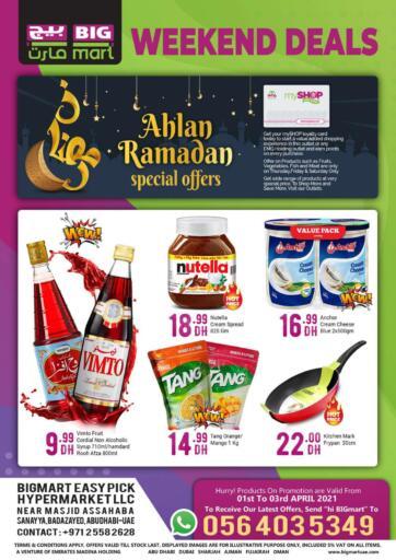 UAE - Abu Dhabi BIGmart offers in D4D Online. Ramdan Offers. . Till 3rd April