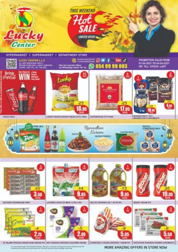 UAE - Sharjah / Ajman Lucky Center offers in D4D Online. This Weekend Hot Sale. . Till 4th April