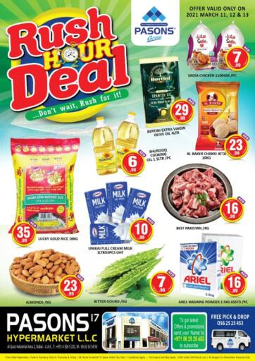 UAE - Dubai Pasons Supermarkets & Hypermarkets offers in D4D Online. Al Qouz, Industrial Area 2. . Till 13th March
