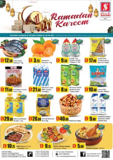 Qatar - Al Daayen Safari Hypermarket offers in D4D Online. Ramadan Kareem. . Only On 06th April