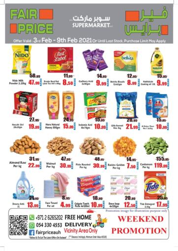 UAE - Abu Dhabi Fair Price Supermarket LLC offers in D4D Online. Weekend Promotion. . Till 9th February