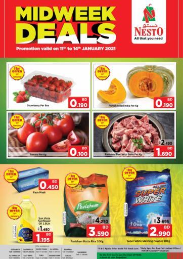 Bahrain NESTO  offers in D4D Online. Midweek Deals. . Till 14th January