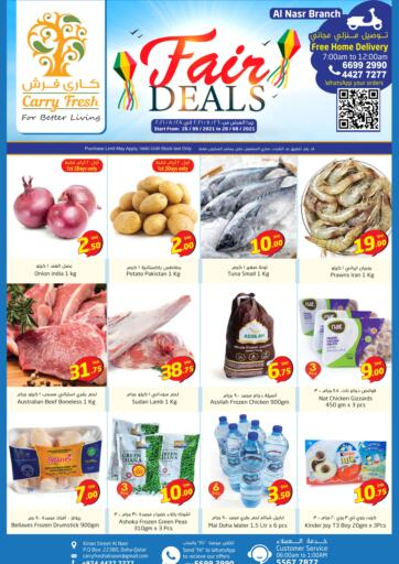 Qatar - Al-Shahaniya Carry Fresh Hypermarket offers in D4D Online. Fair Deals. . Till 28th August