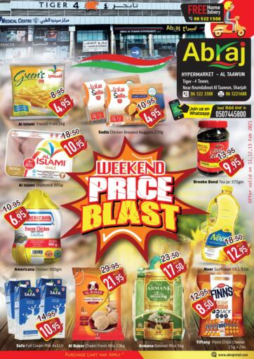 UAE - Sharjah / Ajman Abraj Hypermarket offers in D4D Online. weekend Price Blast. . Till 13th February