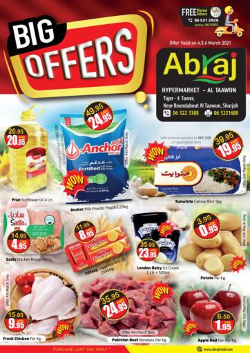 UAE - Sharjah / Ajman Abraj Hypermarket offers in D4D Online. Big Offers. . Till 6th March