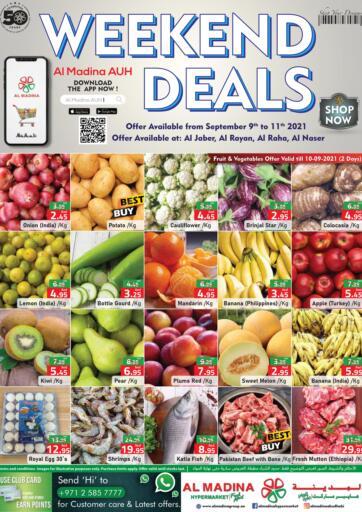 UAE - Abu Dhabi Al Madina Hypermarket offers in D4D Online. Weekend Deals @ Al Jaber, Al Raha, Al Rayan, Al Naser. . Till 11th September