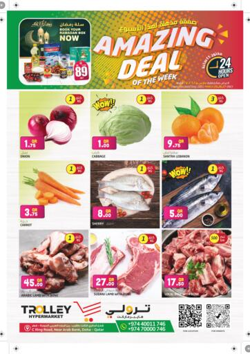 Qatar - Umm Salal Trolley Hypermarket offers in D4D Online. Amazing Deal. Amazing Deal Offers Are Available At Trolley Hypermarket. Offers Are Valid Till 27th March. Enjoy Shopping!!. Till 27th March